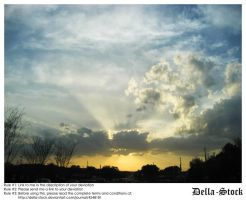 Beautiful Skies.2 by Della-Stock