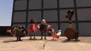 TF2 Freaks by ThatGrayCartoonPony