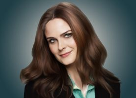 Emily Deschanel by Nadia-Ch