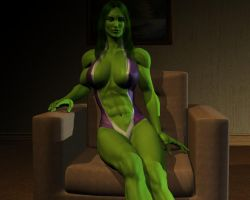 She hulk - Exclusive 16 by MorganCygnus