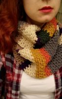 I made the Fourth Doctor's scarf! by Tessa4244