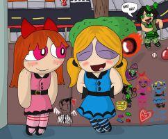 PPG  Still the Same old Girls by MagicArt1