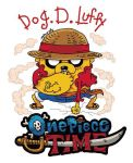 ATxOP-Dog D Luffy by spawnmax