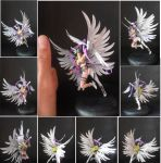 Mini Angewomon Painted by JOPUTAPELIRROJO