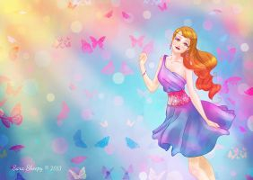 Color Butterfly by SaraSheepy
