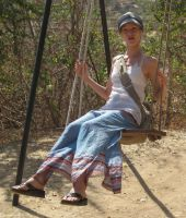 Clare on swing set by hotmetal53