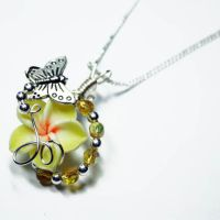 Butterfly Perfume Pendant 2 by Create-A-Pendant