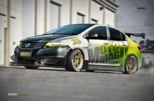 Honda City yasidDESIGN_special by yasiddesign