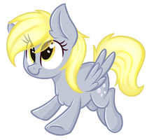 Chibi Derpy Sticker by ShyShyOctavia