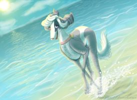 Sunny Water by x-RainFlame-x