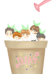[B1A4] Growing Sprouts by jaljello