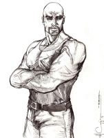 Luke Cage Pencil 1 by ncajayon