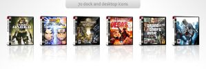 PS3 Game Covers - Pack 1 by isa-pinheiro