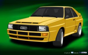 Audiquattro61680X1050 by R2PI
