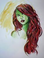 Poison Ivy by Galeart