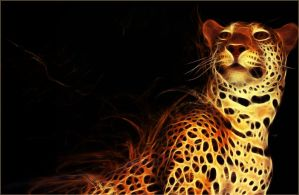 Jaguar Fractal Wallpaper by PimArt