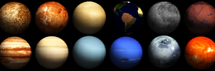 MMD Planets DL (250 Watchers Special!!!) by ChestNutScoop