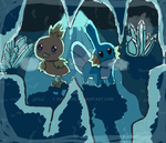 [POKEMON] Crystal Cave by TheKarkkinami