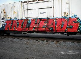 Boxcar Graffiti Number One by BuzzyG