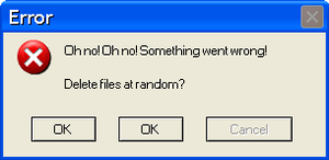 Best Error Message by Charleston-and-Itchy
