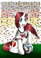 Congrats to Germany_Brazil 2014 Champion by Evil-Rick