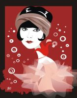 Louise Brooks by nicoletaionescu