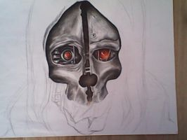 Corvo Dishonored (unfinished) by Bawaria