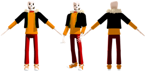 Swapfell Papyrus DL by KittyNekkyo