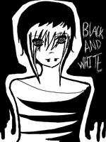 BLACK AND WHITE by Moonstar-Legand