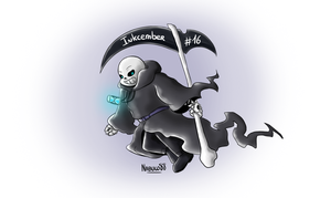 Inkcember 16 - Sans!Hades by Nabuco88