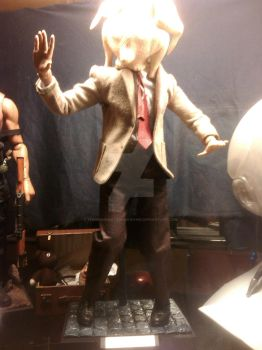Mr. Bean figure by thereanimatedunknown