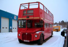 Unexpected double-decker bus 2 by Ripplin
