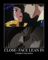 The Enemy: Close-Face Lean In by Maiasm