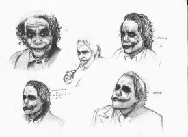 joker doodles 10 by rockedgirl