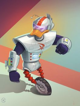 Gizmoduck by renegade21