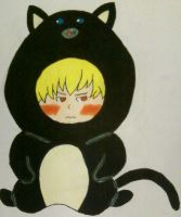 Chibi Neil In Cat Outfit by HelloKittyTsi