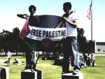 Palestine Protest by lNaimaHl
