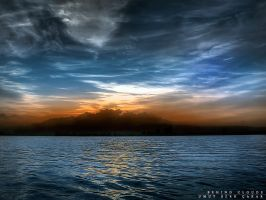Behind Clouds by berk007