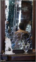The reflection in the mirror5 by Catya-rina