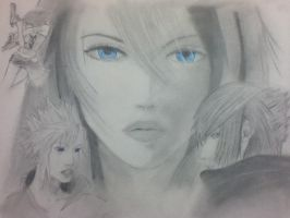 Final Fantasy Poster 2 by RyanTheArtist