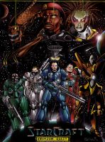 Starcraft -Crimson Quest by ReptileCynrik