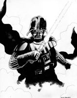 Darth Vader commission by jasonbaroody