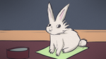 Rabbit Sitting Looking Dubious by AwakeNight