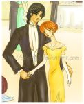 Anne and Roy - detail by 0Daisy0