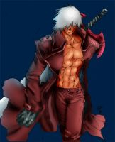 Dante the demon slayer by witchhunter-geist