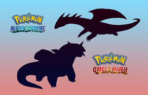 Mega Salamence Alpha and Omega by FakeMakeT