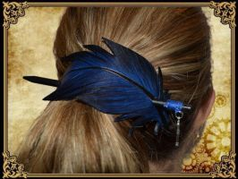 Plume pour cheveux 8 by Damiane