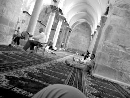 Nablus Mosque by dynamiteme