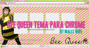 Bee Queen Theme para Google Chrome by NiallsWife