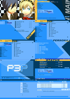 Persona 3 Portable GUI by Deji213